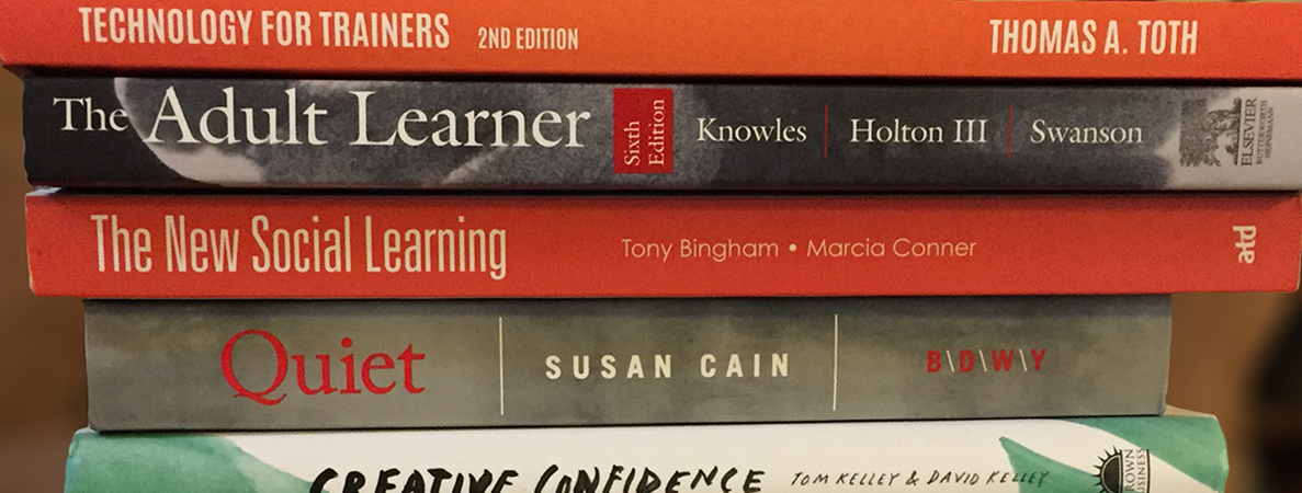 Instructional Design books