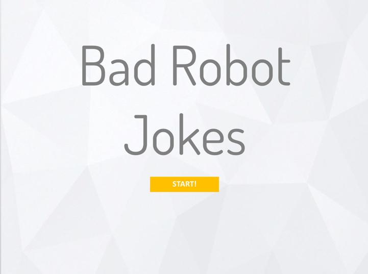 Bad Robot Jokes